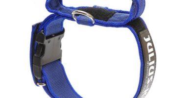 collar azul julius