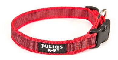 collar julius rojo